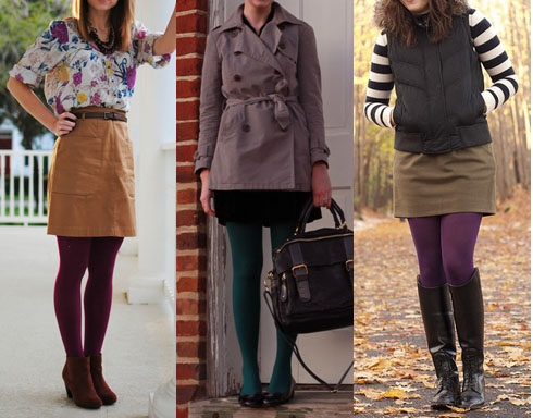 38f9821be00 How to Wear Colored Tights