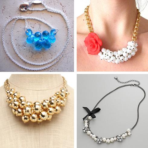Adora-bauble necklaces